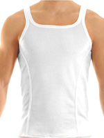 Modus Vivendi - Groom Tank Top White