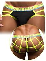 Andrew Christian - Trophy Boy Web Thong Show-It Black