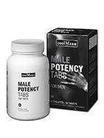 CoolMann Male Potency Tabs - 60 tablets