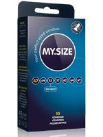 10 Stück MY.SIZE Kondome - Größe 47