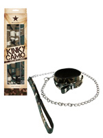 Kinky Camo - Collar & Leash