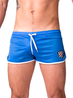 Barcode Short Mario Royal/White