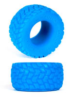 Burning Wheels 100% Silicone Cockring CK01 Blue