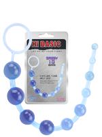 Hi-Basic Sassy Anal Beads - Blue