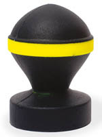 Keep Burning Fluo Valve Plug Black/Yellow