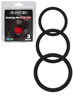 Push Monster Cockring - Silikon Ring Set