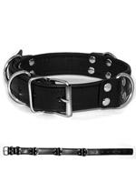 Deluxe Bondage Halsband - Schwarz