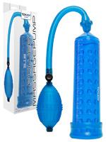 Power Massage Pump mit Sleeve - Blau
