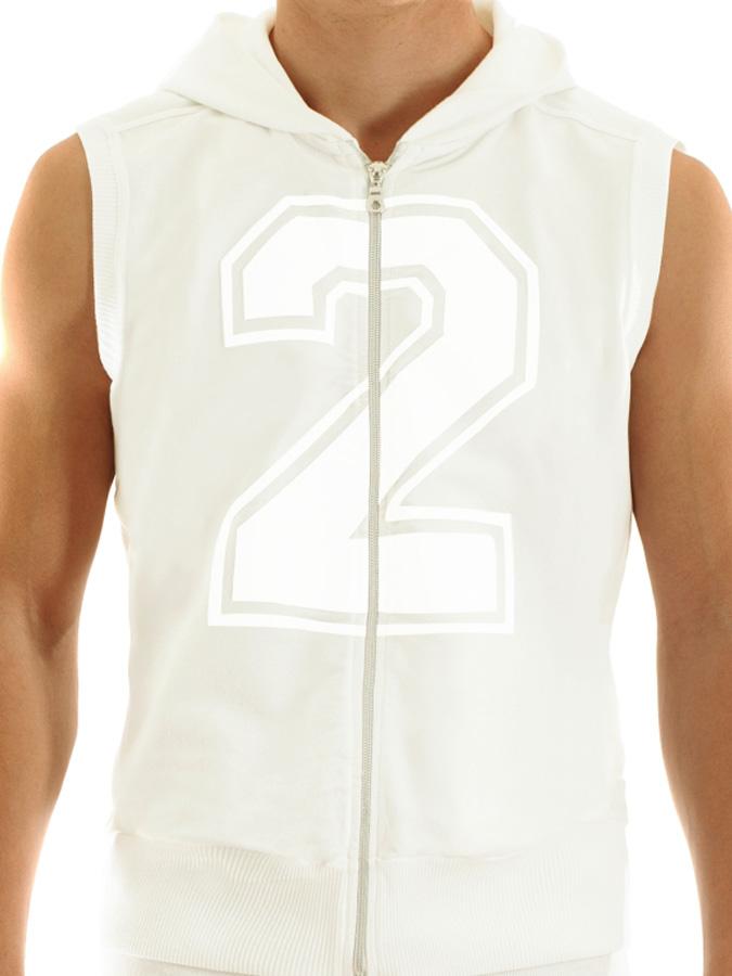 Modus Vivendi - Groom Track Vest White