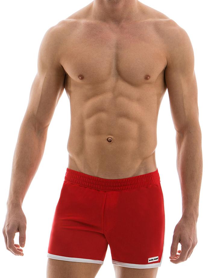 Modus Vivendi - Sporty Shorts - Red