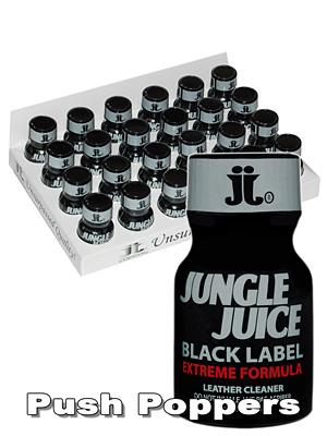 BOX JUNGLE JUICE BLACK LABEL small - 24 x