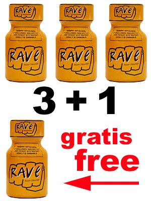 3 + 1 RAVE PACK