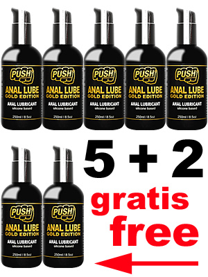 5 + 2 PUSH Anal Lube Silicone Gold Edition 250 ml