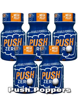 5 x PUSH ZERO small - PACK