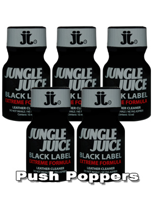 5 x JUNGLE JUICE BLACK LABEL small - PACK