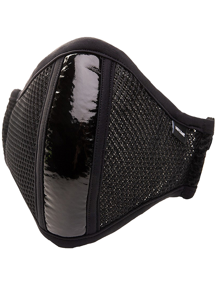 Barcode Berlin - Mask with Filter - Black Shinie