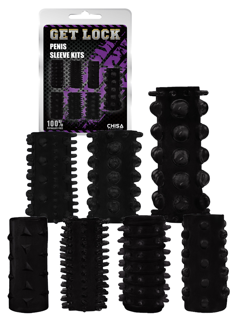 Penis Sleeve Kit - black