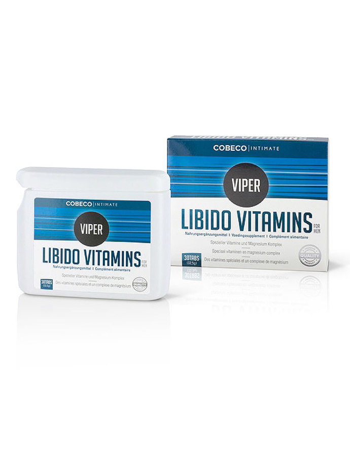 Viper Libido Vitamins for Men 30 Tabletten