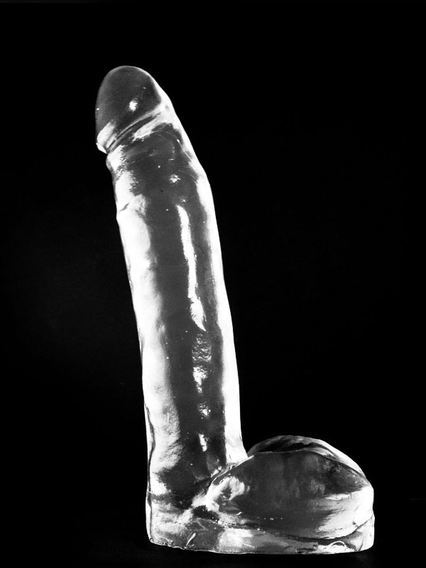 Dark Crystal Clear Large Dildo DCC52