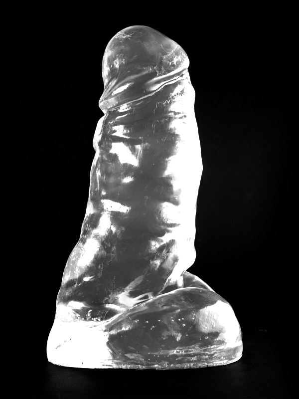 Dark Crystal Clear Large Dildo DCC54