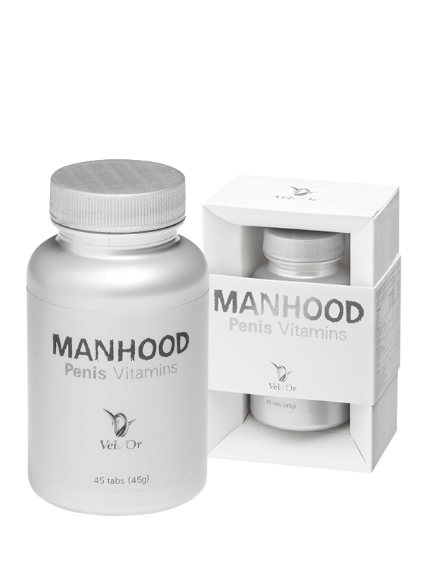 Velv Or Manhood - Penis Vitamins 45 Tabletten
