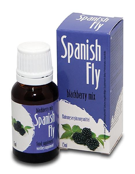 Spanish Fly Blackberry Mix 15 ml