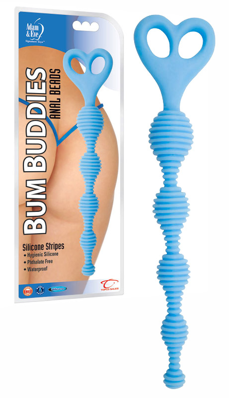 Bum Buddies Anal Beads Blue