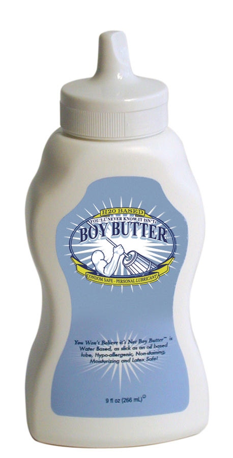Boy Butter H2O Original 9 oz. Squeeze (266 ml)