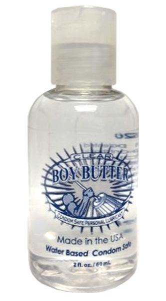 Boy Butter Clear H20 2oz. (60 ml)