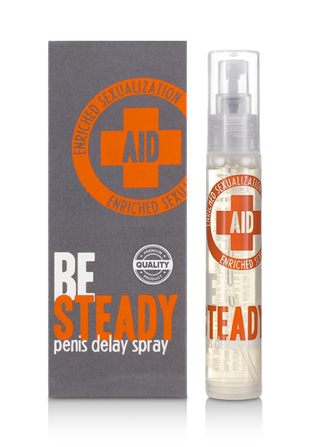 Velv Or AID Be Steady Penis Delay Spray 12 ml