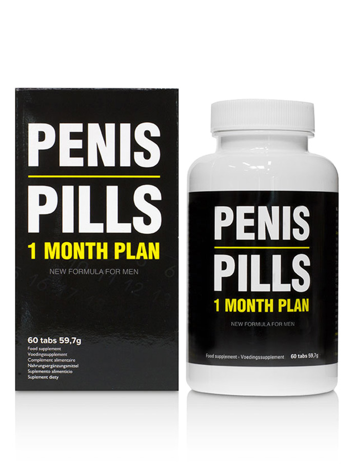 Penis Pills - 1 Month Plan - 60 Tabletten