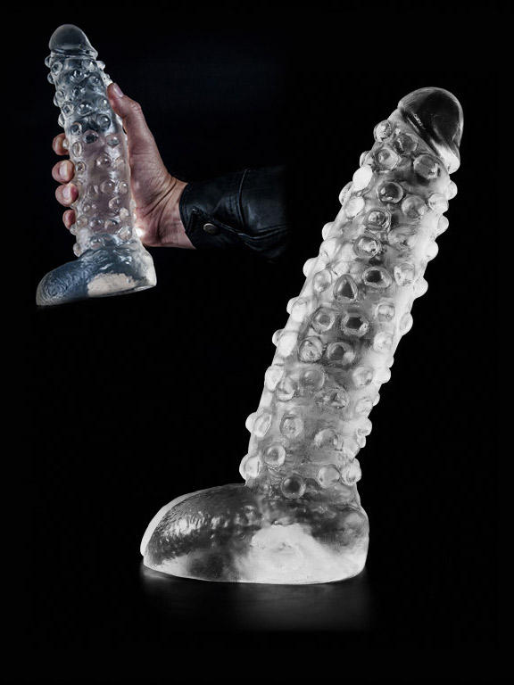 Dark Crystal Clear Large Dildo DCC23