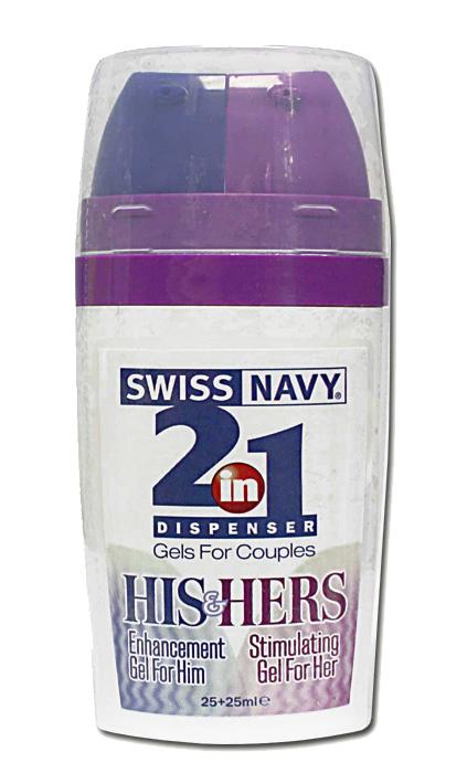Swiss Navy 2 in 1 His & Hers 50 ml - Stimulation Gel