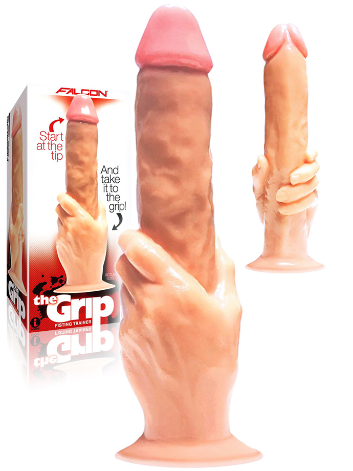 The Grip Cock-In-Hand Dildo