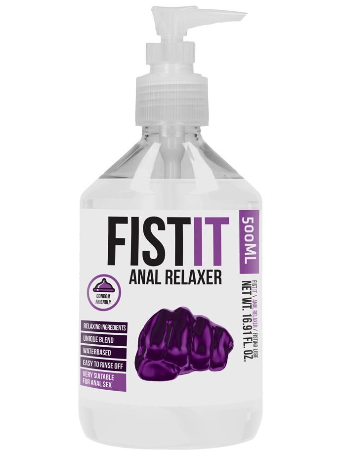 FistIt Anal Relaxer Gleitmittel 500 ml - Pump