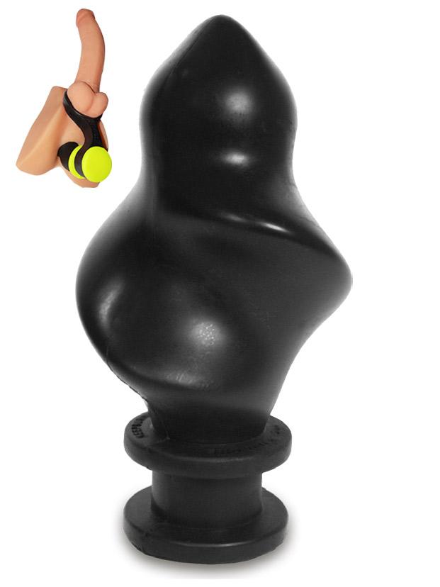 Hoolalass Plug Spindle Black