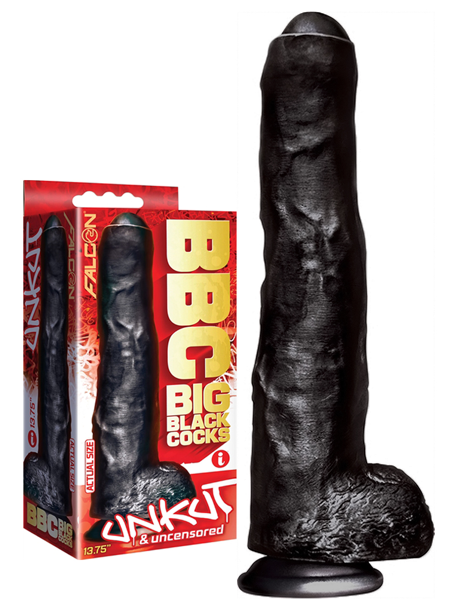 Falcon BBC - Big Black Cock Unkut & Uncensored