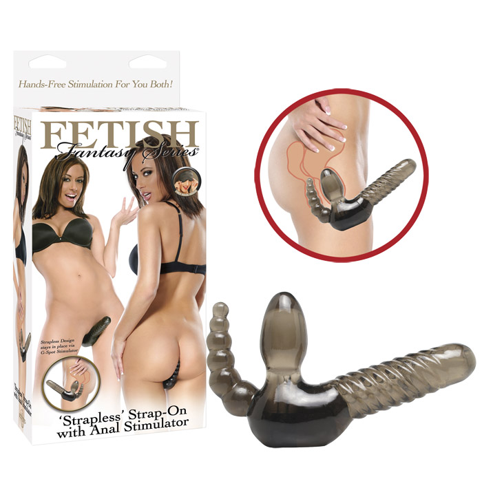 Fetish Fantasy - Strapless Strap-on with Anal Stimulator