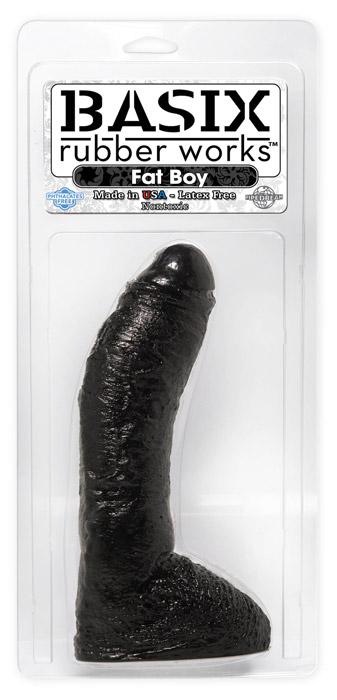Basix 10 Fat Boy Dong Black