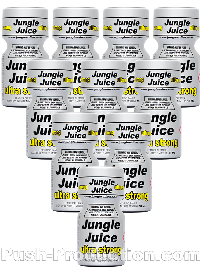10 x JUNGLE JUICE ULTRA STRONG - PACK