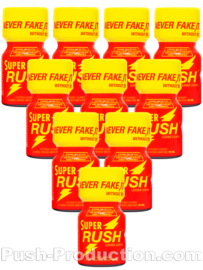 10 x SUPER RUSH - PACK