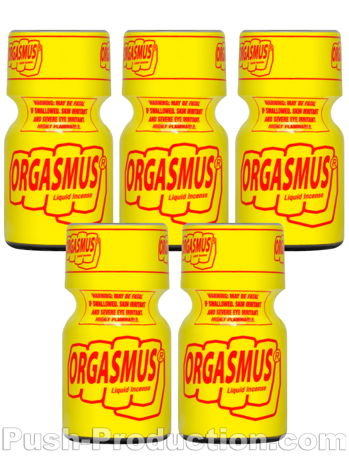 5 x ORGASMUS LIQUID INCENSE - PACK