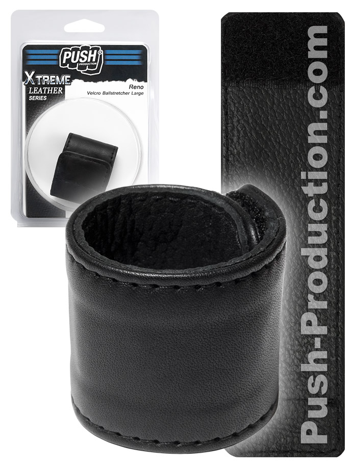 Push Xtreme Leather - Reno Velcro Ballstretcher Large
