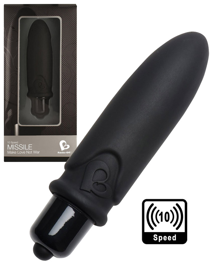 10 Speed Missile Vibrator