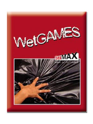 Wet Games Sex-Laken - rot 180x220 cm