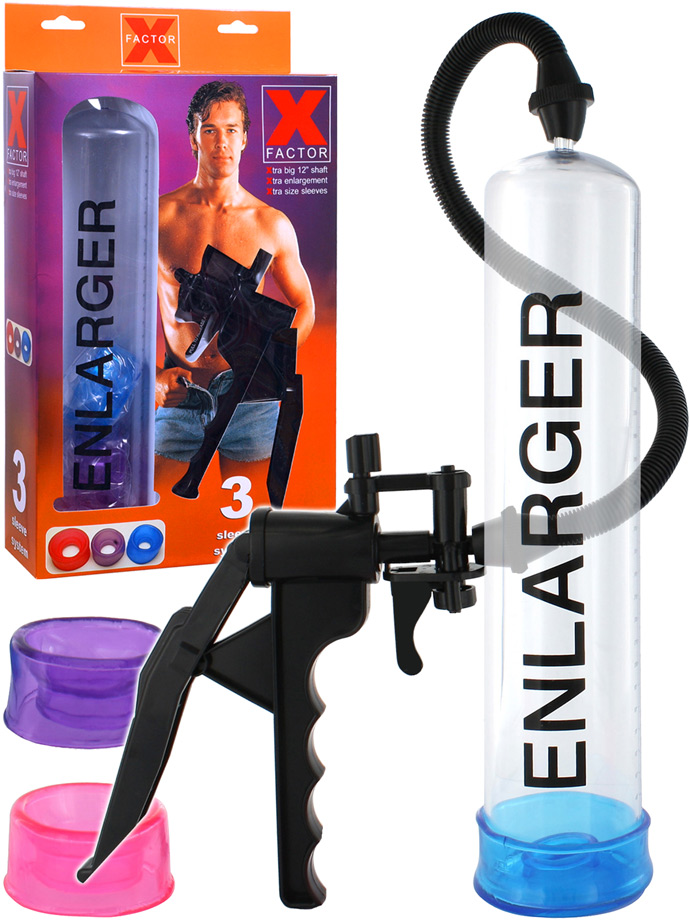 X Factor Enlarger Penis Pump