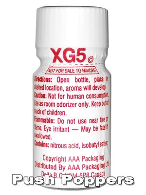 XG5 POPPERS
