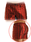Modus Vivendi - Metallic Loose Fit Boxer - Rot