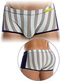 Modus Vivendi - Striped Flash Brazil Boxer - Sand