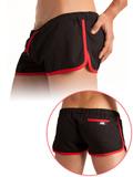 Barcode Gym Short Black/Red